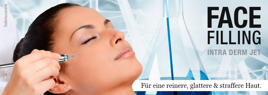 NEU: Face Filling Intra Derm Jet.
